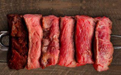 Términos de cocción de la carne de res.